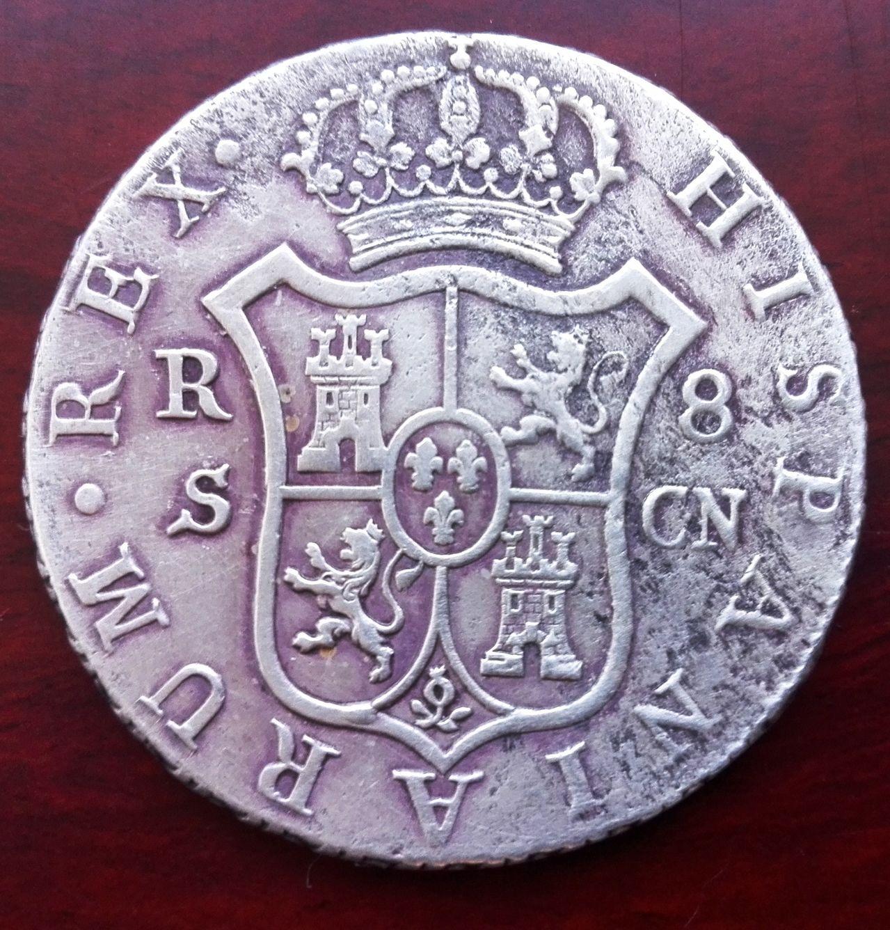 8 reales 1803 Carlos IV. Sevilla - Página 2 8_reales_1803_sevilla_3