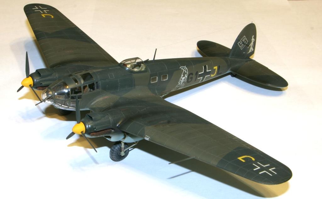 """Heinkel-111 P-2 """"Neville Chamberlain"""" 1/72 Hasegawa. IMG_3369"""