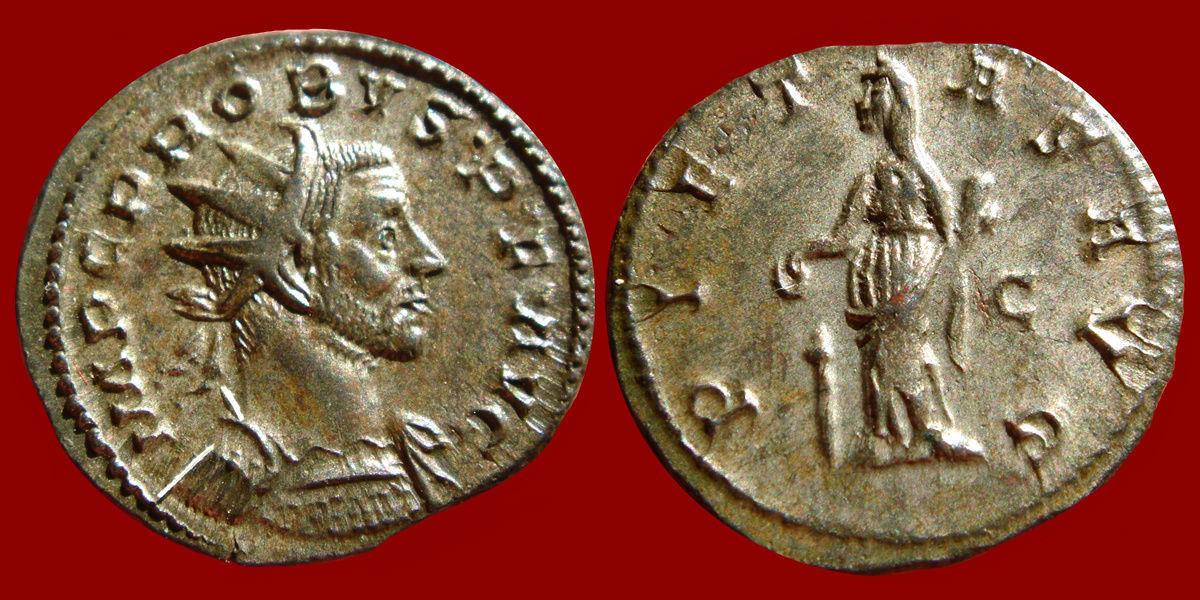 Aureliano (antoniniano) de Probo. PIETAS AVG. Lyon 0_0_0_probo3