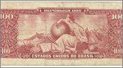 100 Cruzeiros Brasil, 1967 (Resellados a 10 Centavos) 100_cruzeiros_resellados_rev