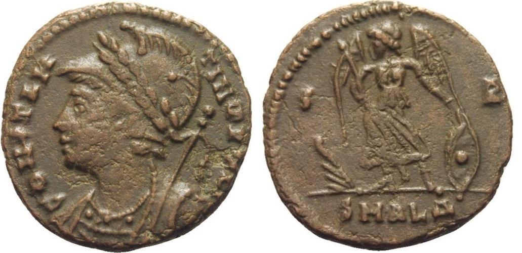 AE4 conmemorativo de la ciudad de Constantinopla. Alexandria Constantinoplis_alexandria