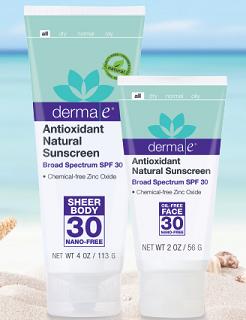 Amostras woobox - Creme Derma - Derma_e_Sunscreen_SPF_30_Oil_Free_Face_Lotion