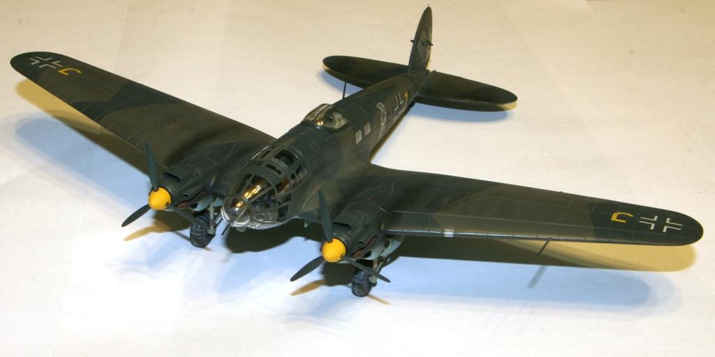 """Heinkel-111 P-2 """"Neville Chamberlain"""" 1/72 Hasegawa. IMG_3368"""