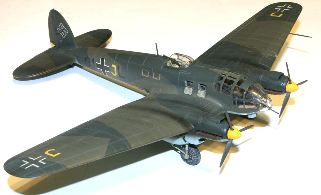 """Heinkel-111 P-2 """"Neville Chamberlain"""" 1/72 Hasegawa. IMG_3379"""