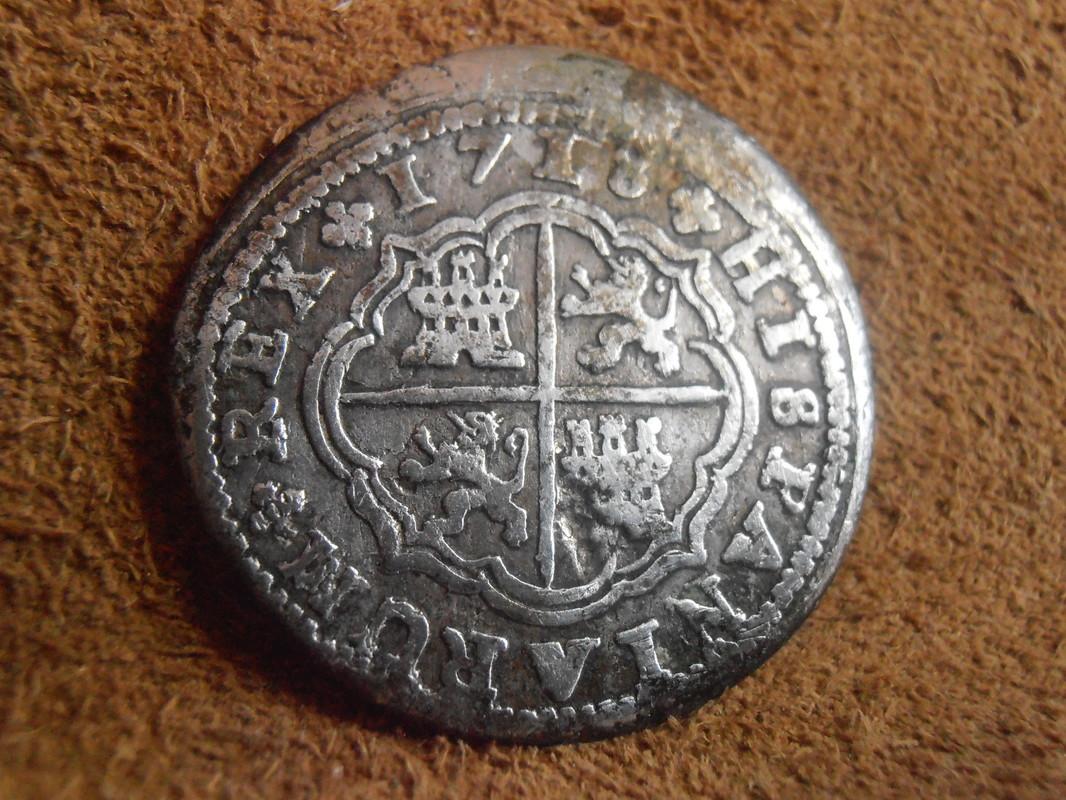 1718 - 2 Reales Felipe V ceca de Cuenca- 1718 P3150001