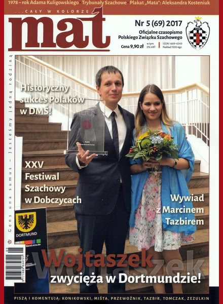 Chess Periodicals :: Czasopismo MAT (Polish Chess Magazine) Mat-69-2017-05