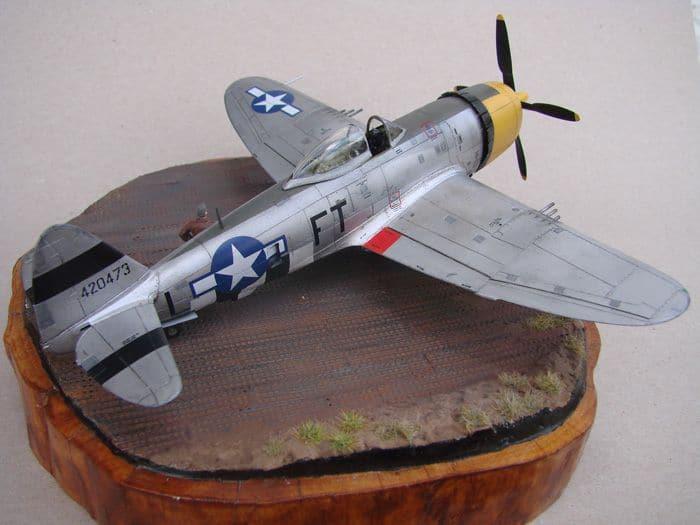 P-47D-30RE Thunderbolt, Revell, 1/72 DSC03167