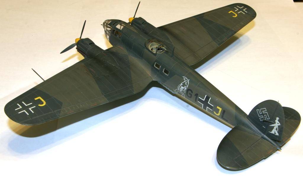 """Heinkel-111 P-2 """"Neville Chamberlain"""" 1/72 Hasegawa. IMG_3374"""