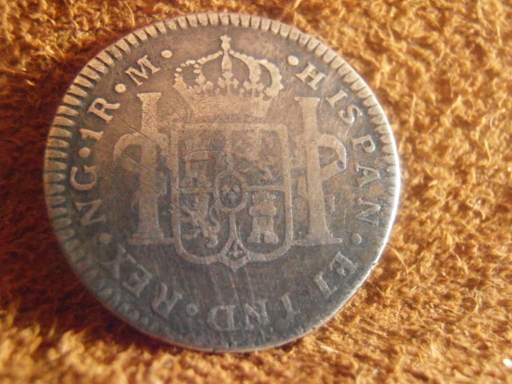 1 Real 1793 Carlos IV. Guatemala  P9040002