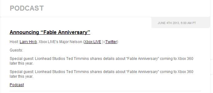 Fable Anniversary é anunciado exclusivamente para Xbox 360; remake de Fable Screenshot_18