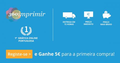 [Provado] 360Imprimir - Cartões de Visita, Flyers a preço LOWCOST ou Grátis - 5 Euros EXTRA - 360imprimir_44416_1_zaask