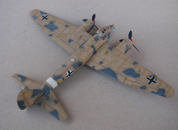 Junkers Ju-88A-4, Revell(rebuild), 1/72 DSC03199
