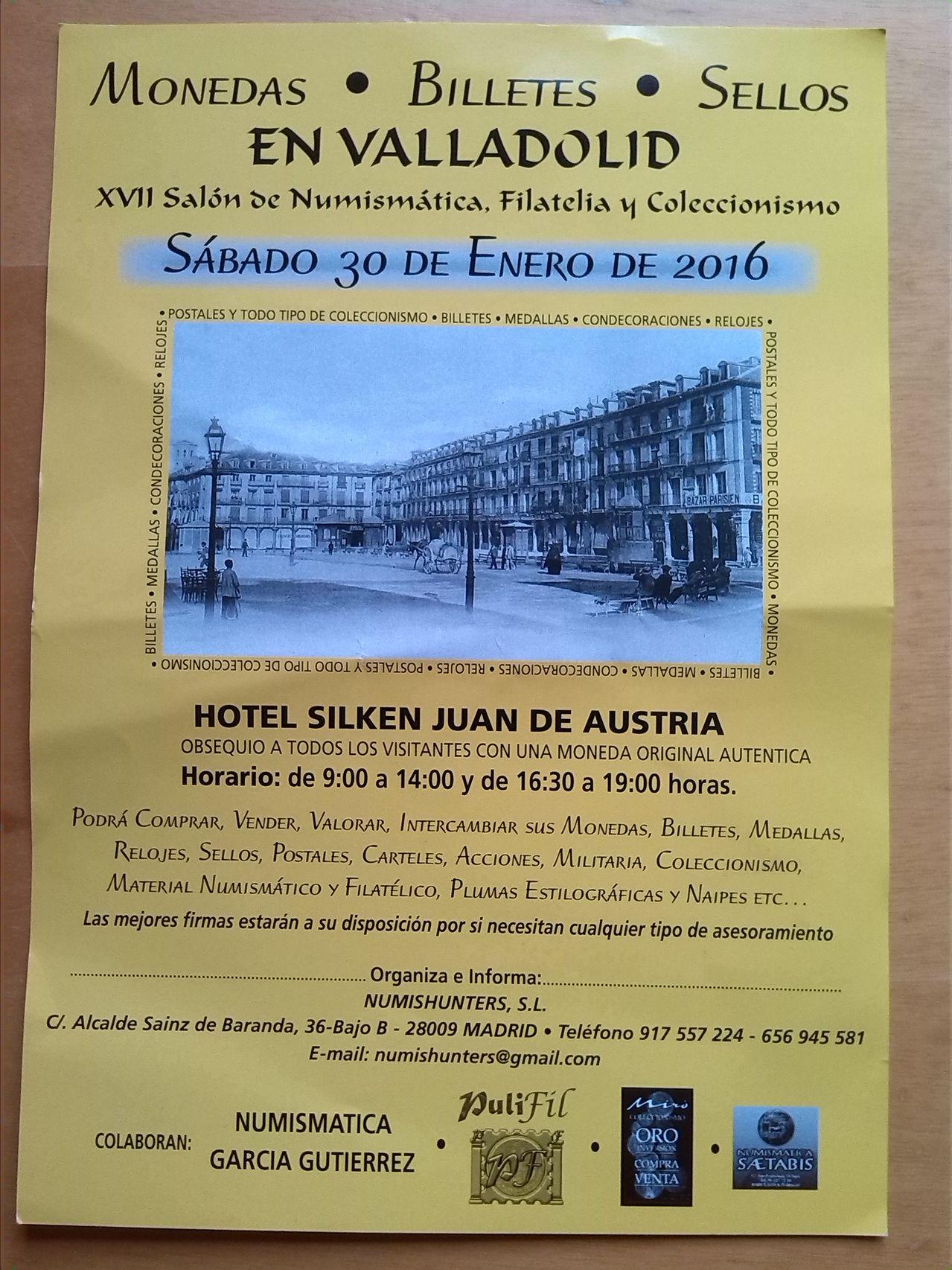 Convención en Valladolid Sabado 30 de Enero 2016 Convencion_numismatica_valladolid_30_1_2016