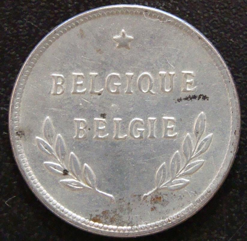 belgica - 2 Francos. Bélgica (1944) BEL._2_Francos_1944_-_anv