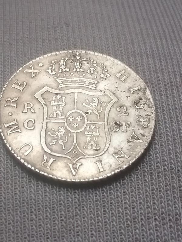 2 reales 1812. Fernando VII. Cataluña 14938332125571097383690