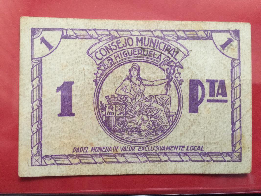 1 peseta Higueruela (Albacete) D71311_E4-0_D4_F-4_FDC-8_C12-1029_F8_FBFDB0