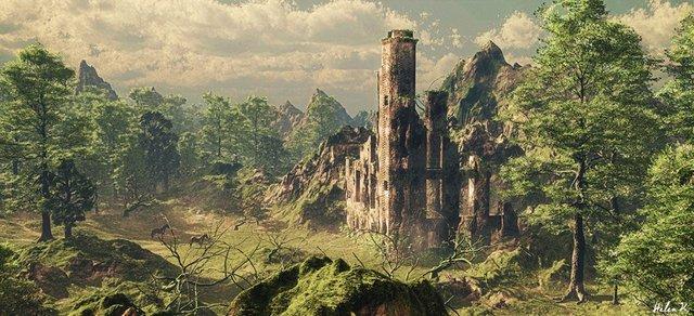 Crime Sorcière Guild 1024x468_5924_Forgotten_Castle_3d_fantasy_landsc