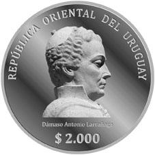 Monedas conmemorativas de Uruguay acuñadas en plata 1961 - Presente. - Página 2 188a