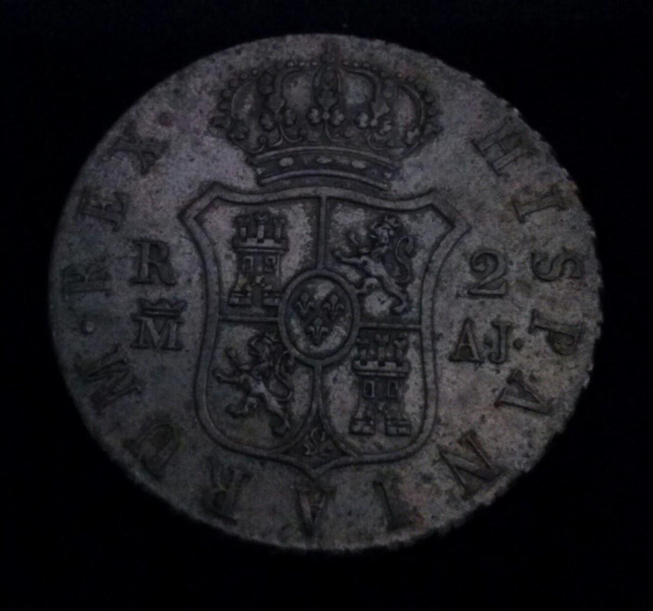 2 reales 1831 Madrid AJ, Fernando VII DEDICADA A Flekyangel CAM00833_1