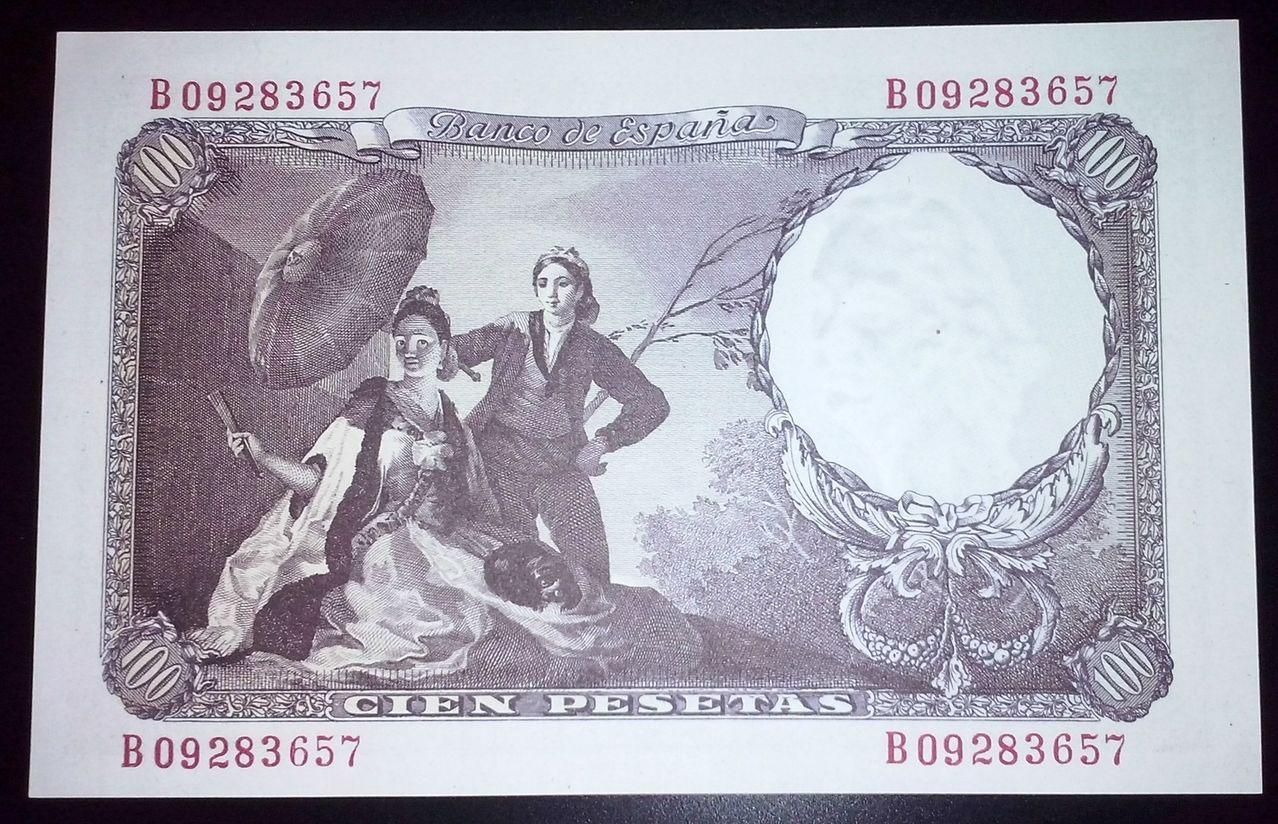100 Pesetas 1946 (Serie B - Francisco de Goya) 100_PESETAS_1946_REVERSO