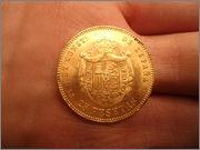 25 pesetas 1878 Alfonso XII DSC04523