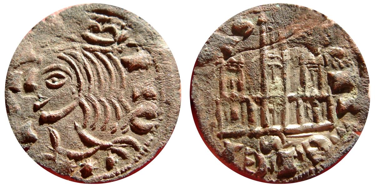 Moneda medieval. Juan II?? Image