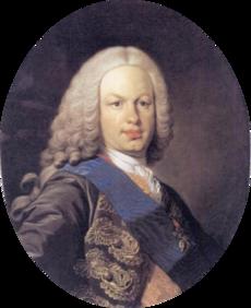8 escudos 1757. Fernando VI. Méjico. (Eddy et JO3023 pro magnificentia et gloria publica dedit). 230px_Fernando_VI_Louis_Michel_van_Loo