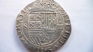 4 reales Felipe II, Sevilla. SAM_1105