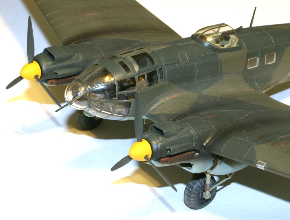 """Heinkel-111 P-2 """"Neville Chamberlain"""" 1/72 Hasegawa. IMG_3373"""