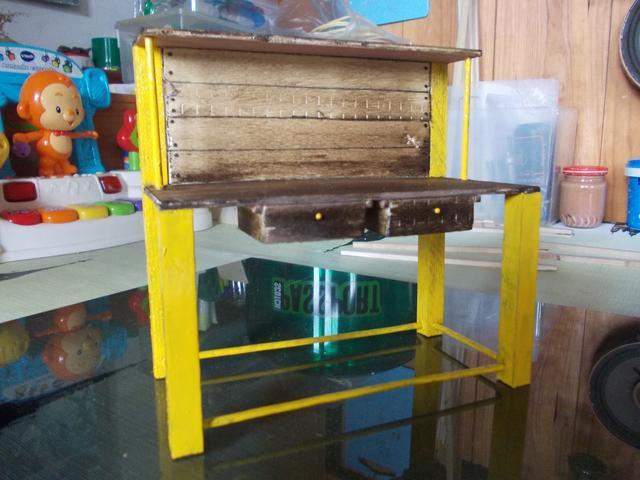 Diorama: Taller mecánico clásico, escala 1/10 DSCN6318