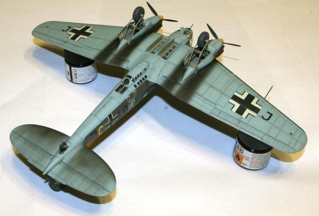 """Heinkel-111 P-2 """"Neville Chamberlain"""" 1/72 Hasegawa. IMG_3382"""