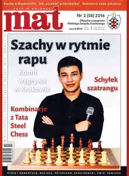 Chess Periodicals :: Czasopismo MAT (Polish Chess Magazine) Mat-58-2016-02