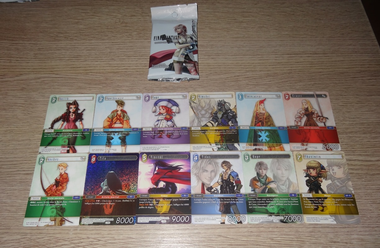 Jeu de carte à collectionner Final Fantasy DSC03238