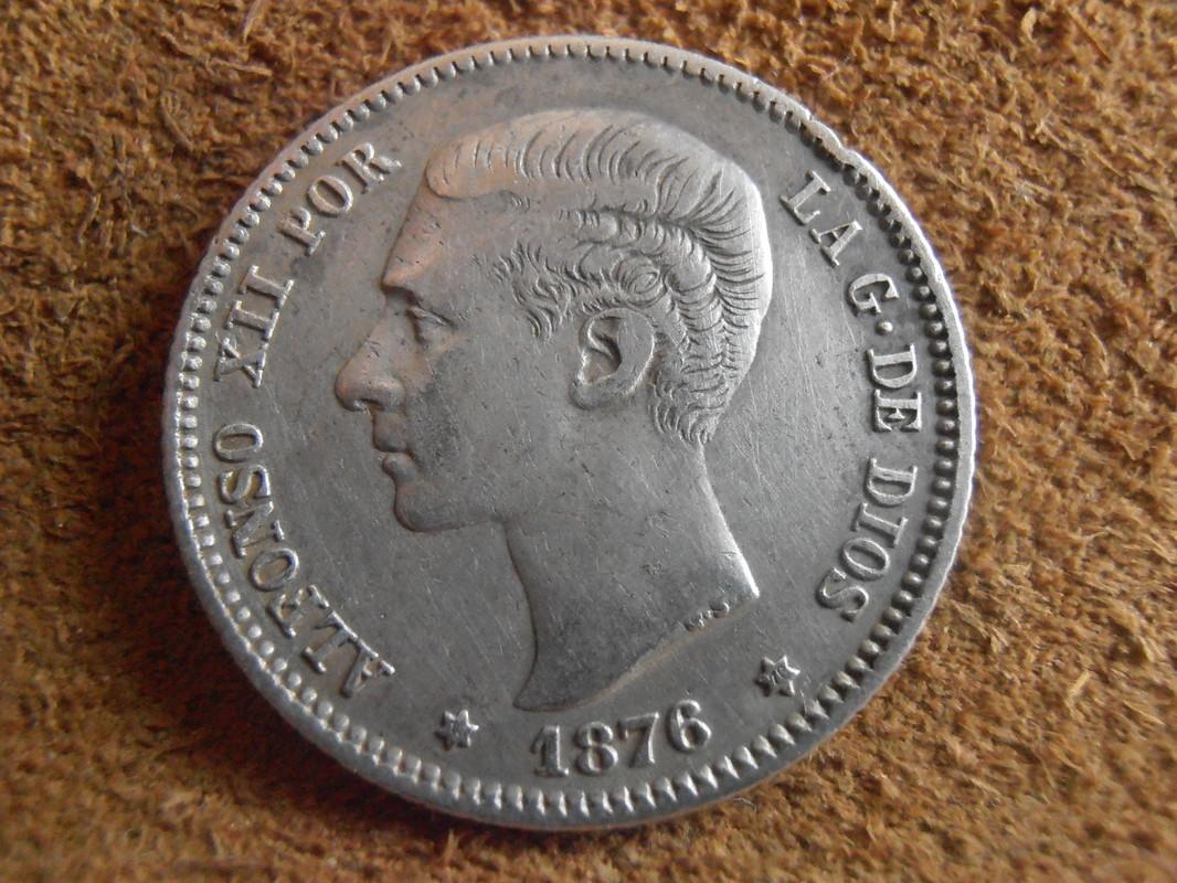 1 peseta 1876. Alfonso XII P3200019