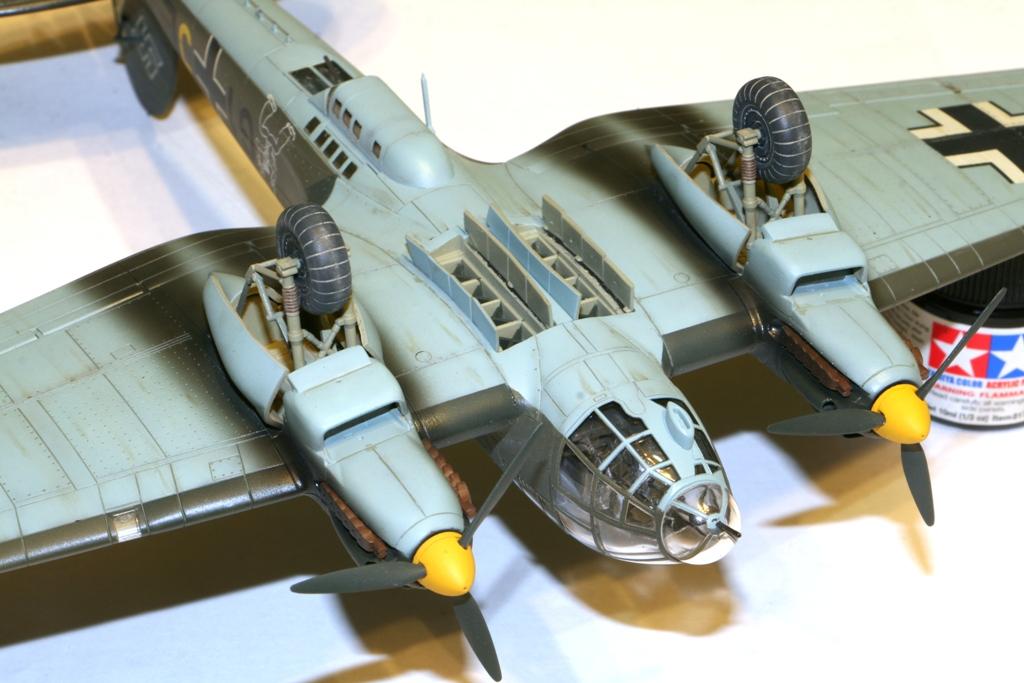 """Heinkel-111 P-2 """"Neville Chamberlain"""" 1/72 Hasegawa. IMG_3384"""