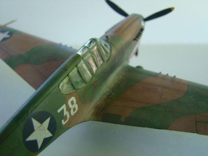 P-40E, Hobby Boss, 1/72 DSC03371