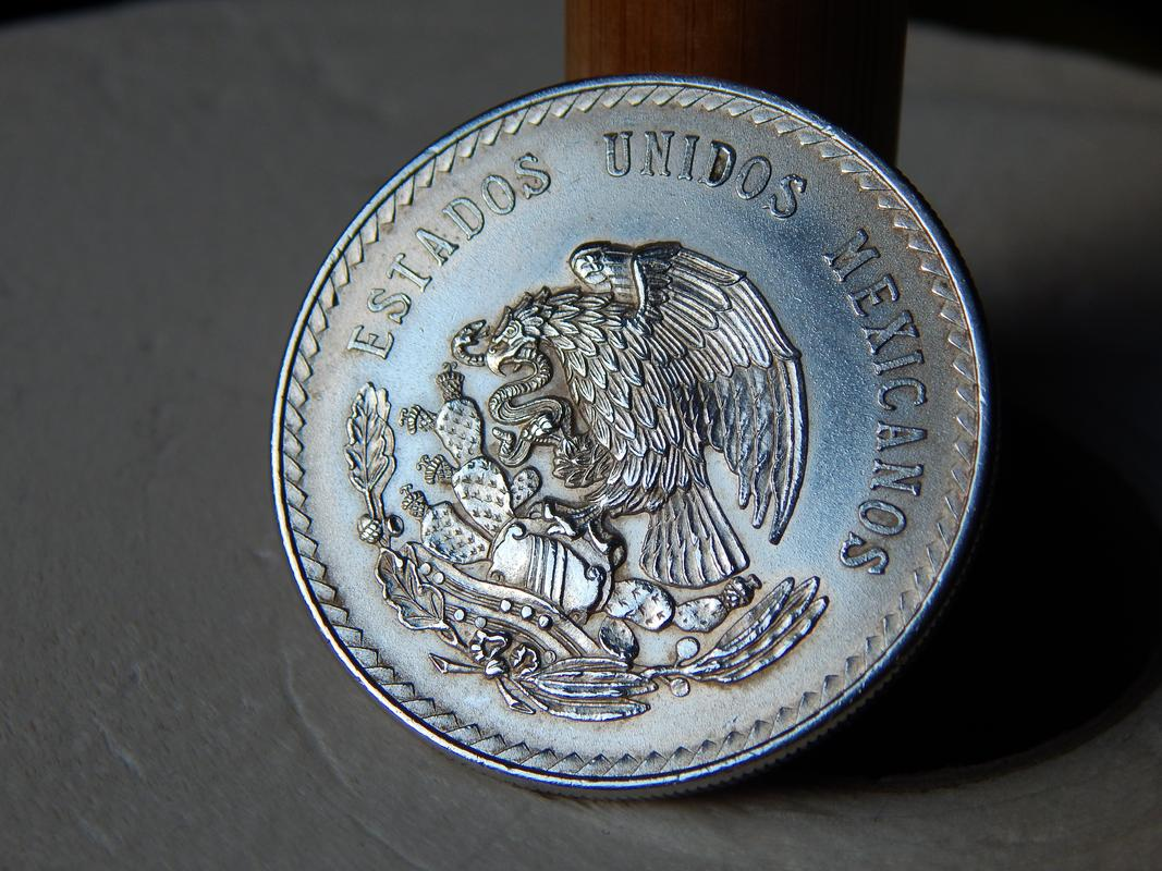 5 pesos Mexico 1948 DSCN2741