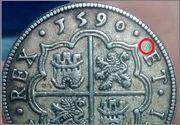 Moneda 8 reales 1590 Image