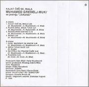 Muhamed Muki Gredelj - Diskografija  1988_z