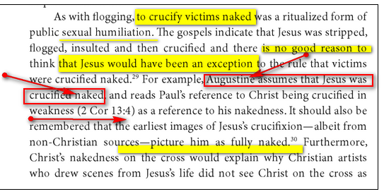 Jésus crucifié TOTALEMENT NU 1aaaaa