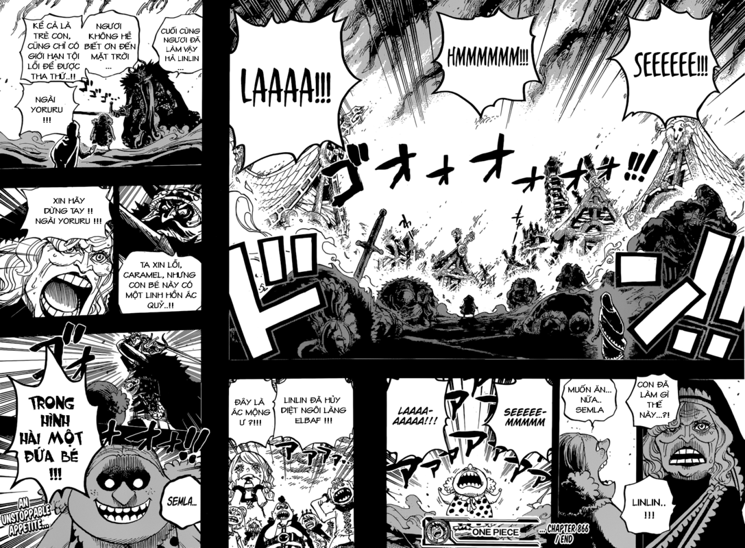 One Piece Chapter 866: Kẻ hủy diệt bẩm sinh 16-17b