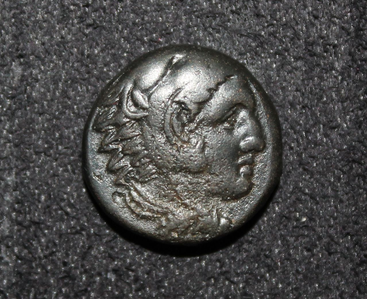 AE17 de Alejandro Magno. ΑΛΕΞΑΝΔΡΟY (Arco/carcaj/mazo - rayo). Macedonia  IMG_8612