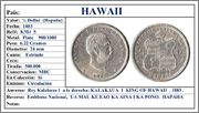 Hawaii - HAWAII  1/4 de Dollar (Hapaha) 1883. (Dedicado a Zorro Rojo)  Hawaii_1_4_Dollar_1883