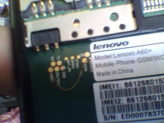 world 1st lenovo a60+ read flash Success P1305250515071