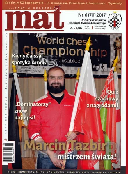 CHESS PERIODICALS :: Czasopismo MAT (Polish Chess Magazine) Mat-70-2017-06
