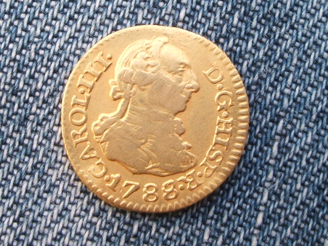 1/2 escudo 1788. Carlos III. Sevilla. Si_2