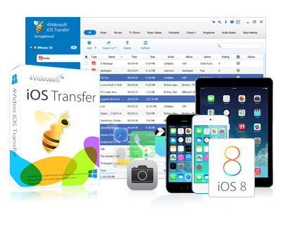4Videosoft iOS Transfer 8.2.6 Multilingual + Crack + 100% Working Interface