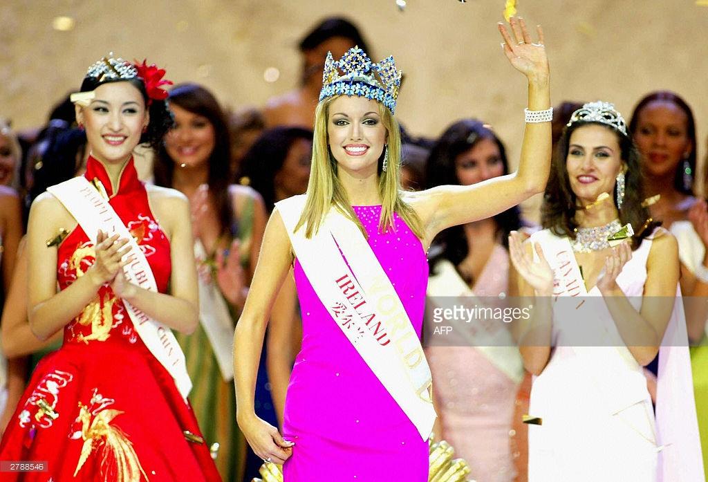 rosanna davison, miss world 2003. Image