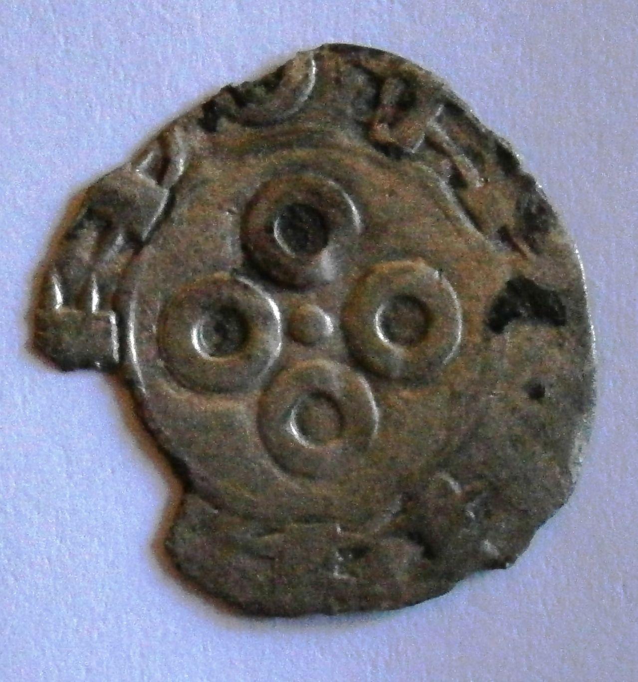 Dinero Melgorés de Montpellier. (Siglos XII-XIV). P1010005