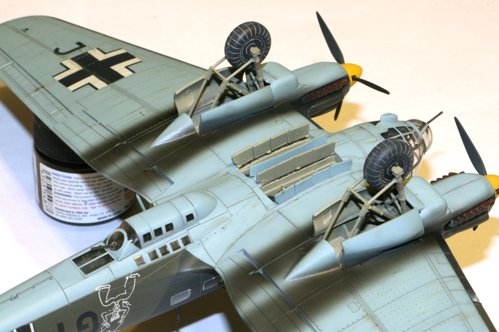"""Heinkel-111 P-2 """"Neville Chamberlain"""" 1/72 Hasegawa. IMG_3383"""